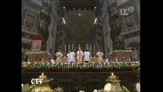 Pope Benedict XVI Christmas mass 24 12 2010