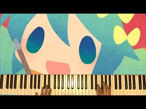 [Piano]Mitchie M × OSTER project 歌の棲む家~メゾン初音~Maison Hatsune【 弾いてみた】House Of Songs [Vocaloid]