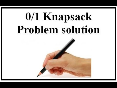 0/1 Knapsack Problem solution (English+Hindi)
