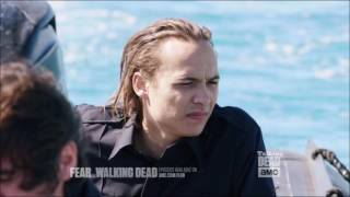 Talking Dead (Fear) - Mercedes Mason on Ofelia & Nick