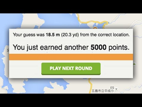 Cheating In Geoguessr To Get A Perfect Score