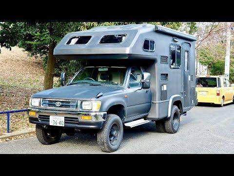 SOLD - 1994 Toyota Hilux 4x4 Camper Diesel 5-speed manual