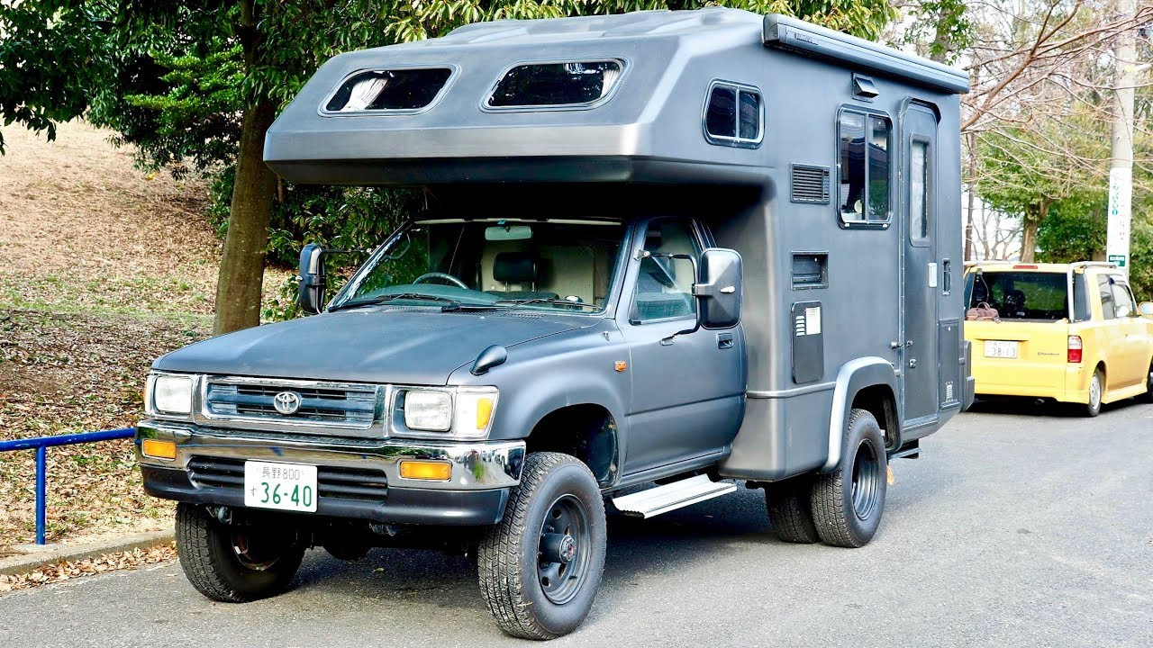 Toyota Hilux 4x4 Camper Coming To U S  For Your Adventures