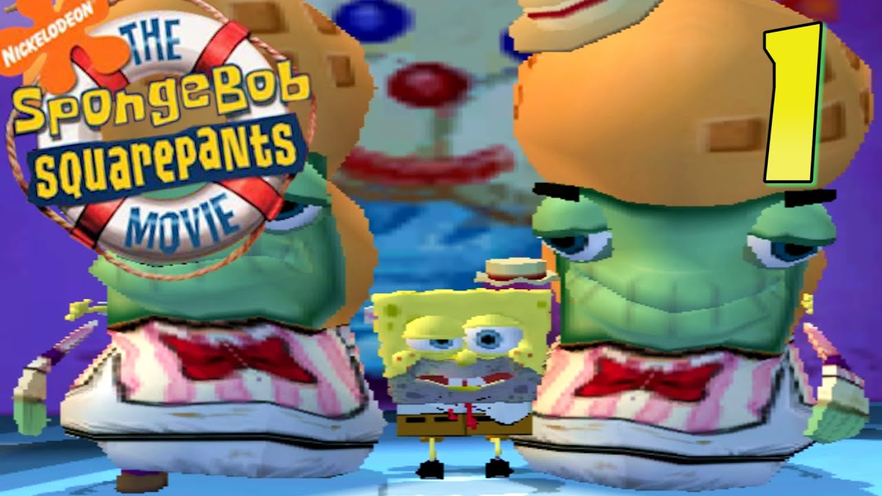 no cheese spongebob squarepants movie game ep 1 youtube