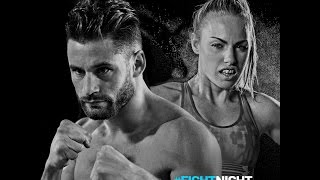 Chris Algieri Heather The Heat Hardy Fight Night Barclays April 16 2016