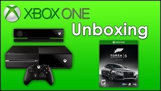 Unboxing XBox One + Forza 5 Limited Edition (Deutsch, 1080p)