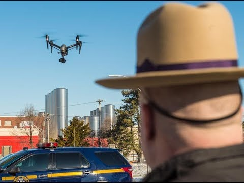 NY State Police unleash drones for trooper safety, accident investigations