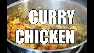 amazing curry chicken recipe by | Chef Ricardo Cooking