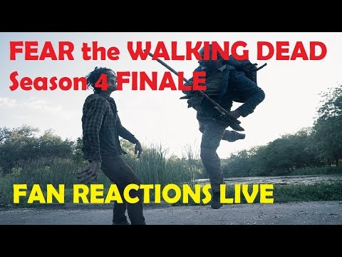 FEAR The Walking Dead Season 4 - EPISODE 16 FAN REACTIONS LIVE