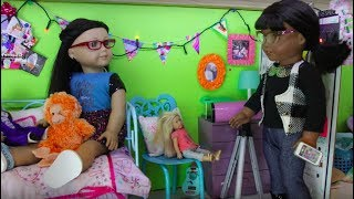 Melody Comes to Visit (American Girl Stopmotion)