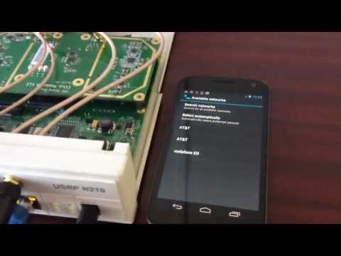 Hacking GSM with the Ettus Research USRP N210