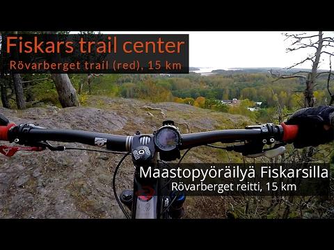 Fiskars Village Trail Center, mountain biking, Rövarberget | Maastopyöräily Rövarberget-reitillä