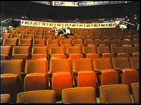 We sat in EVERY seat at The Bell Centre in Montreal for charity.