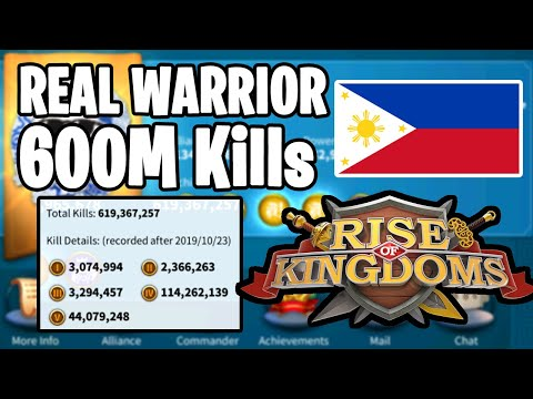 He Made His Kingdom From Scratch ( Filipino King ) $180K Account | Rise Of Kingdoms
