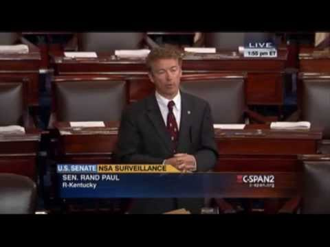 Rand Paul's Freedom Act Filibuster