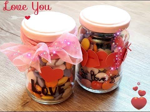 Баночки со сладостями своими руками