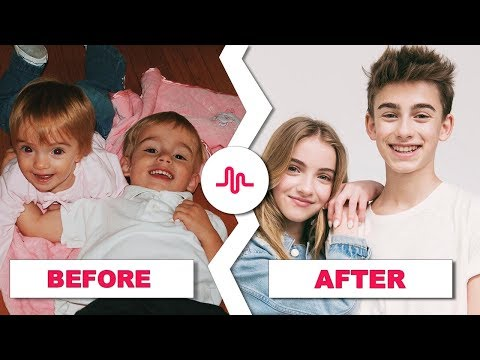 Johnny Orlando Vs Lauren Orlando - Then and Now ★ Before and After