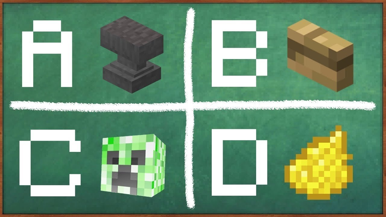 Minecraft alphabet YouTube