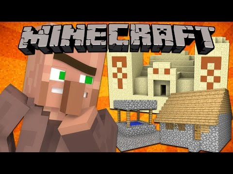 Where Generated Structures Come From - Minecraft