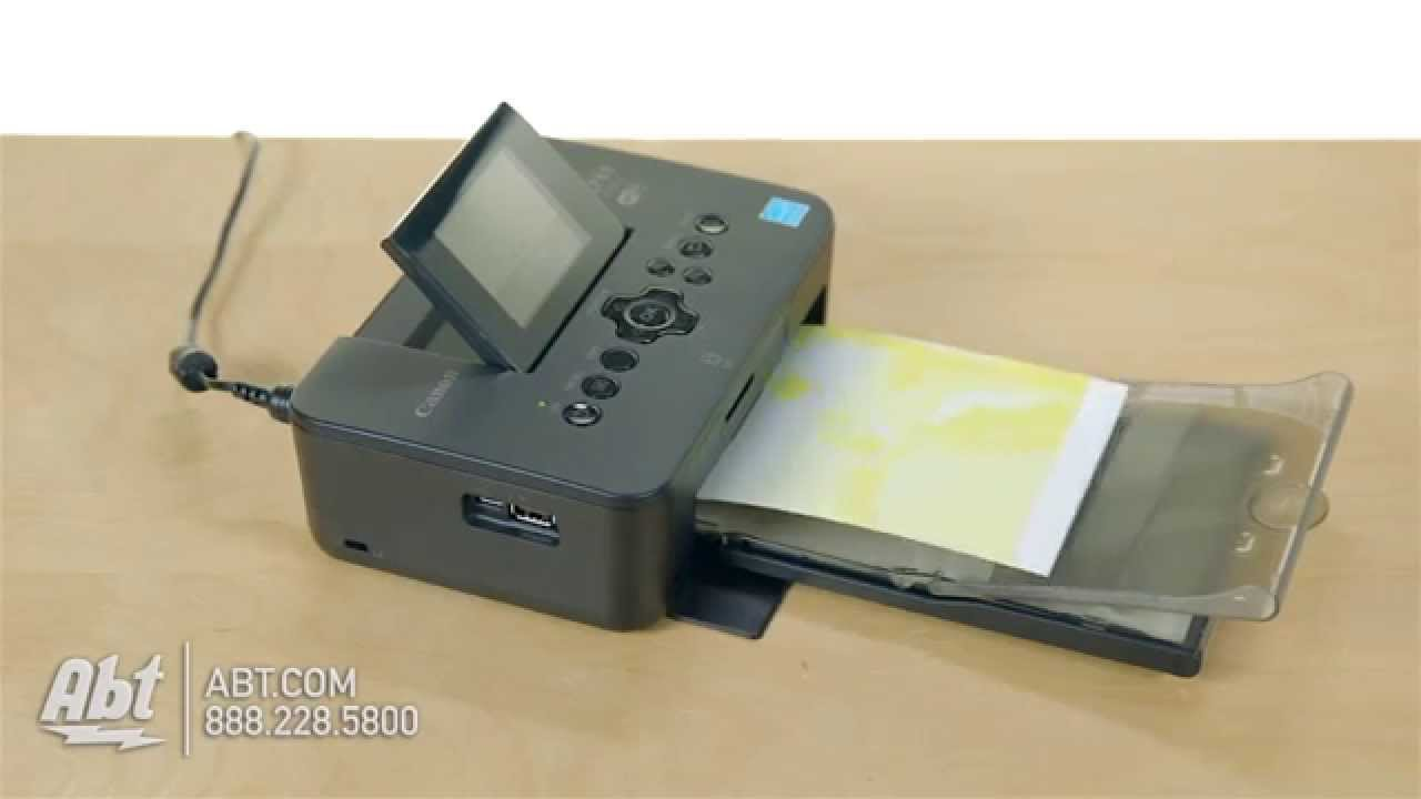Canon Selphy Portable Photo Printer Cp9410 Overview Youtube