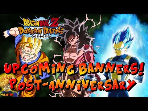 UPCOMING BANNERS on GLOBAL! (Whats AFTER the 3-YEAR ANNIVERSARY?) | Dragon Ball Z Dokkan Battle