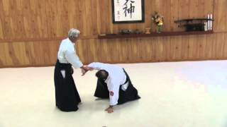 Mitsugi Saotome Shihan at Aikido Eastside in 2016