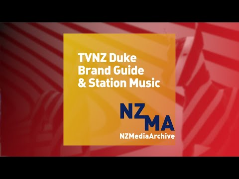 TVNZ Duke brand guide & station music