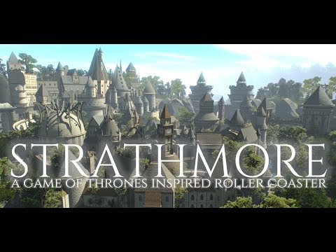Strathmore - A Game of Thrones-Inspired Roller Coaster (NoLimits2)