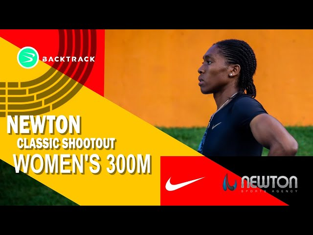 Caster Semenya runs RECORD BREAKING 300m!