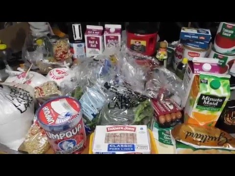 Shopping, Food Stamp Challenge, Chef John