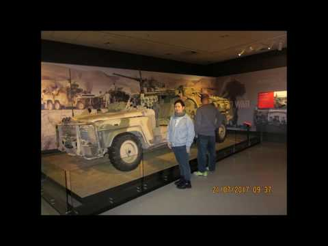 Visit to the War Museum, Canberra July 2017