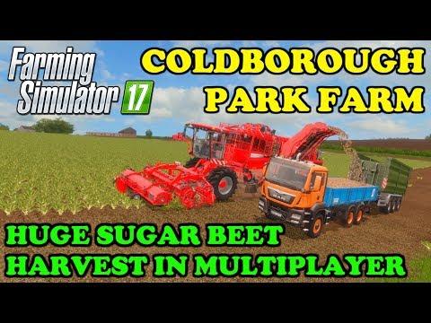 Farming Simulator 17 | Multiplayer - D. Fun4all | Timelapse | Coldborough Park Farm | Episode 4 thumbnail