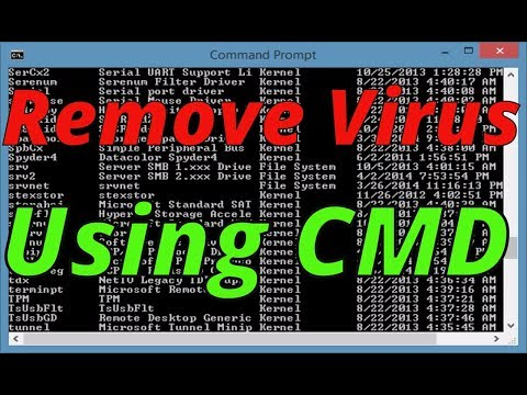 How To Remove Virus Using CMD. WIN-7,8,8.1,10 (Easy) (100% Fix)