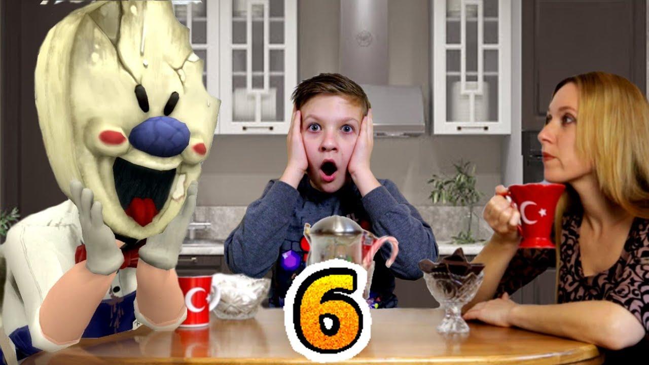 МОРОЖЕНЩИК пришел в ГОСТИ к Тиме в  реальной жизни! 6 серия Ice Scream in real life
