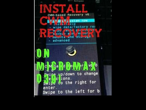 How to install CWM recovery on Micromax Q391 Canvas Doodle 4