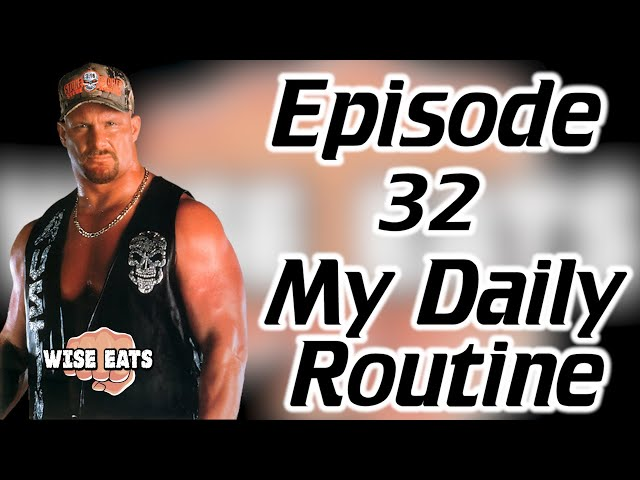 #32: My Daily Routine for Optimized Energy & High Performance Habits for Success (Wise Eats)