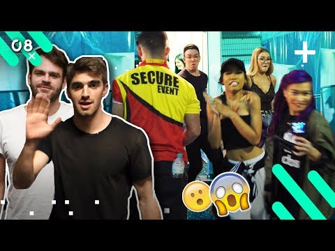 BACKSTAGE AT THE CHAINSMOKERS!! (EPISODE 8)