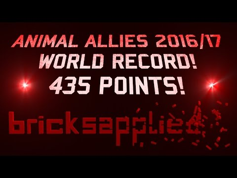 FLL Animal Allies 2016/17 - 435 Points || WORLD RECORD!!! || World Festival, St. Louis