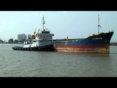 ships at the port of saigon