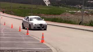 Nikola Ostojic - Autoslalom Glavom do cilja 2019 Zlatibor - Alfa Romeo Giulietta