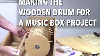 Making a Tambour-Style Drum for a Music Box
