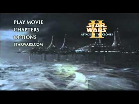 Star Wars Episode II Attack of the Clones DVD Menu 3