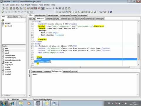 jquery4php