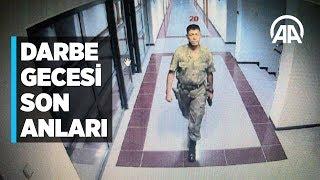 Şehit Ömer Halisdemir'in darbe gecesi son anları kameralara yansıdı