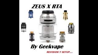 ZEUS X RTA / Огляд і Setup БУДЕ