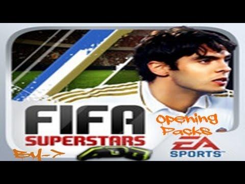 ApilDeGangsta:Opening Gold Packs 2012  In FIFA SUPERSTARS On Facebook