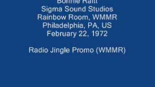 Bonnie Raitt 15 - Radio Jingle Promo (WMMR)
