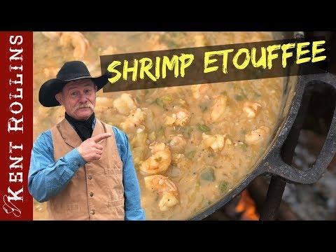 Shrimp Etouffee - Cowboy Cajun Style