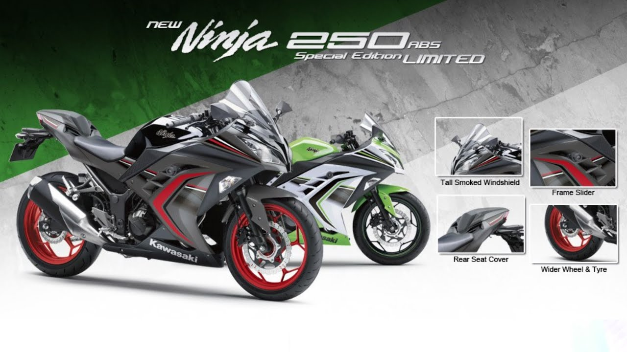 Review New Ninja 250 Se Ltd Limited Edition 2016 Youtube
