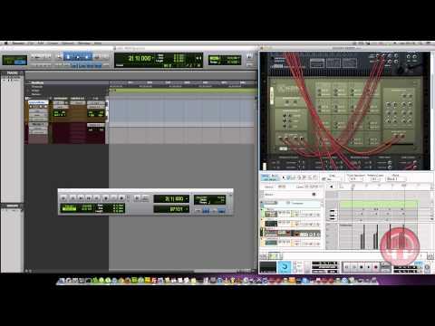 Trabalhando em Rewire com o Pro Tools e Reason